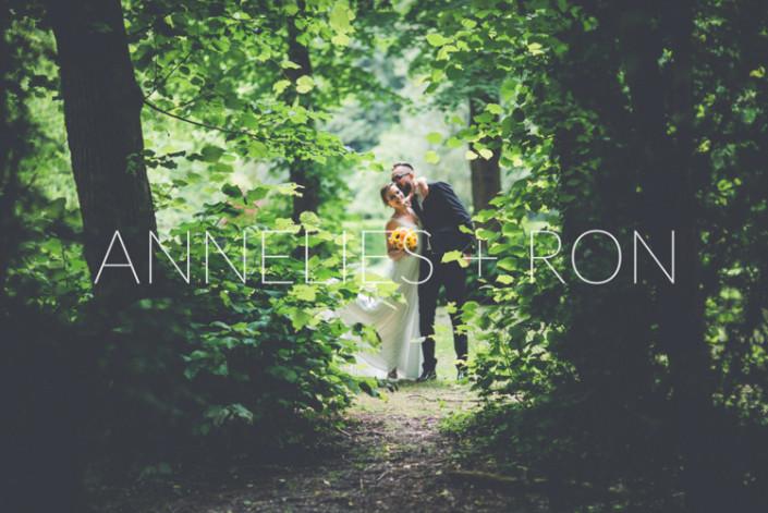 Garden wedding time